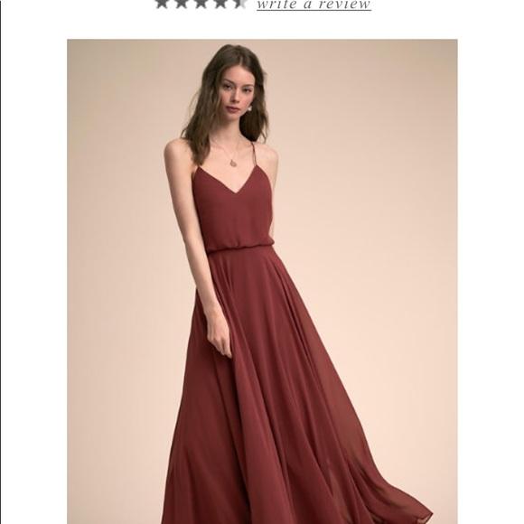 21ad0086a8 Jenny Yoo Dresses   Skirts - BHLDN Jenny Yoo Inesse Bridesmaid Cinnamon Rose